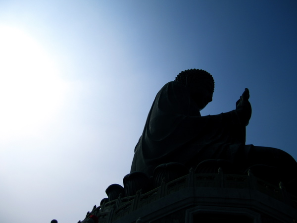 The Tian Tan Buddah...Huge!
